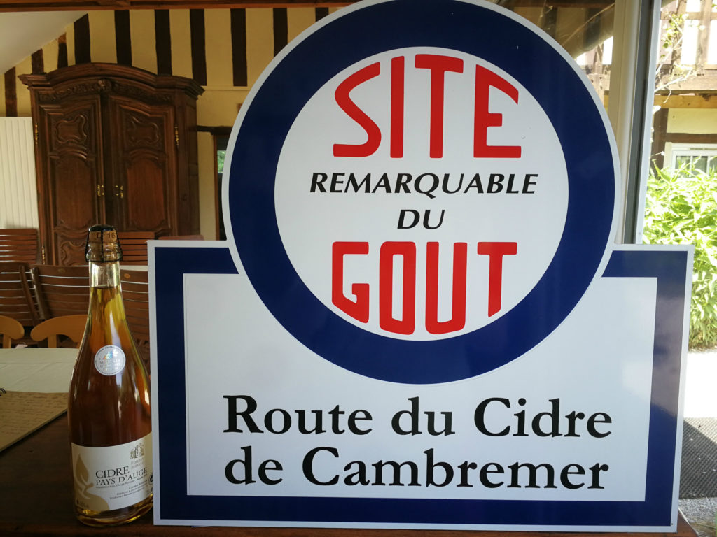 SRG cider route Cambremer