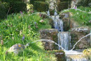 Normandie pays Auge chateau Vendeuvre parc fontaines surprises tortues